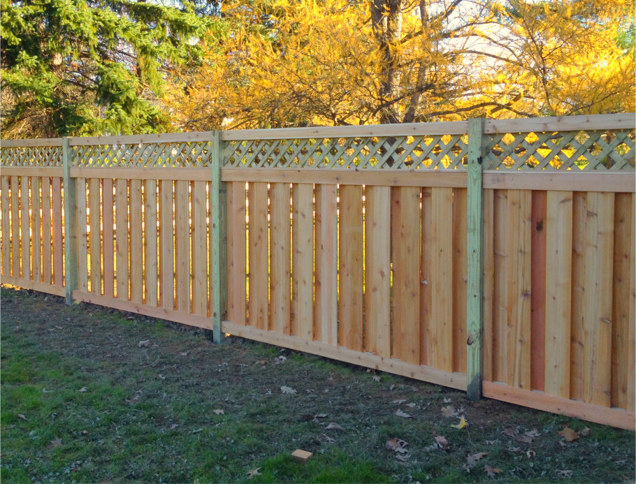 Privacy Fence Wood Ohio Fence Company