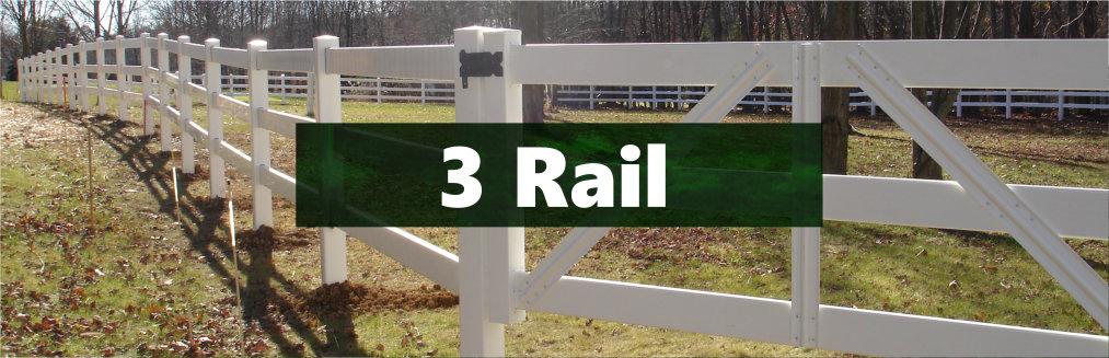 Vinyl Farm Fence Ohio Fence Company