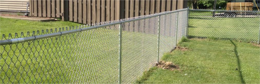 Chain Link Fence Galvanized Ohio Fence Company